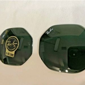 Authentic Ray-Ban G 15 Green Octagonal Classic Lenses Only
